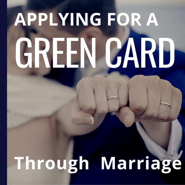 how to get a green card through marriage in the united