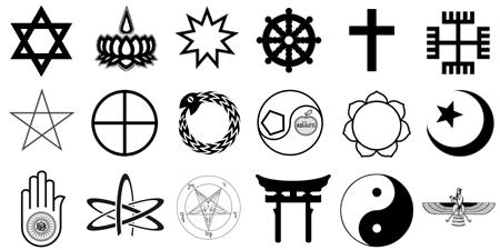 significations-de-variétés-religieuses-.symboles