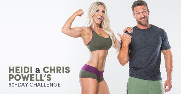 Heidi Chris Powell S 60 Day Challenge 2presented By Oxygen Magazine