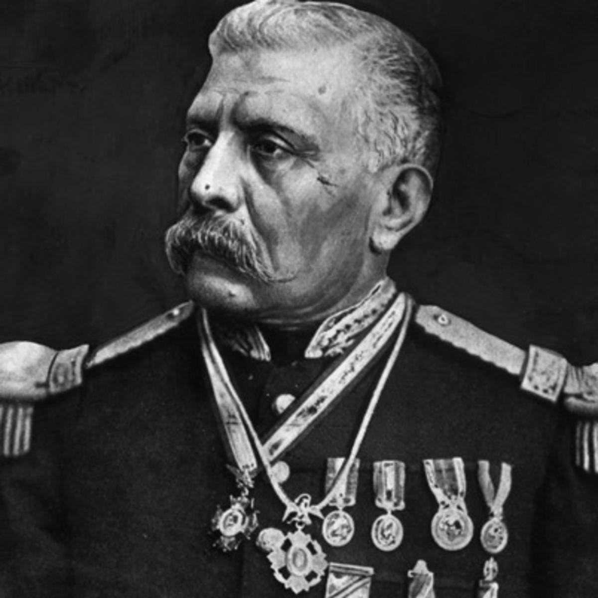 a biography of jose de la cruz porfirio the future dictator of mexico