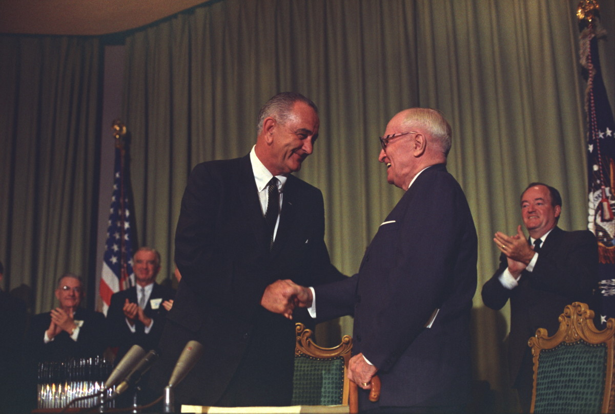 a biography and life work of lyndon johnson 36th president of the united states