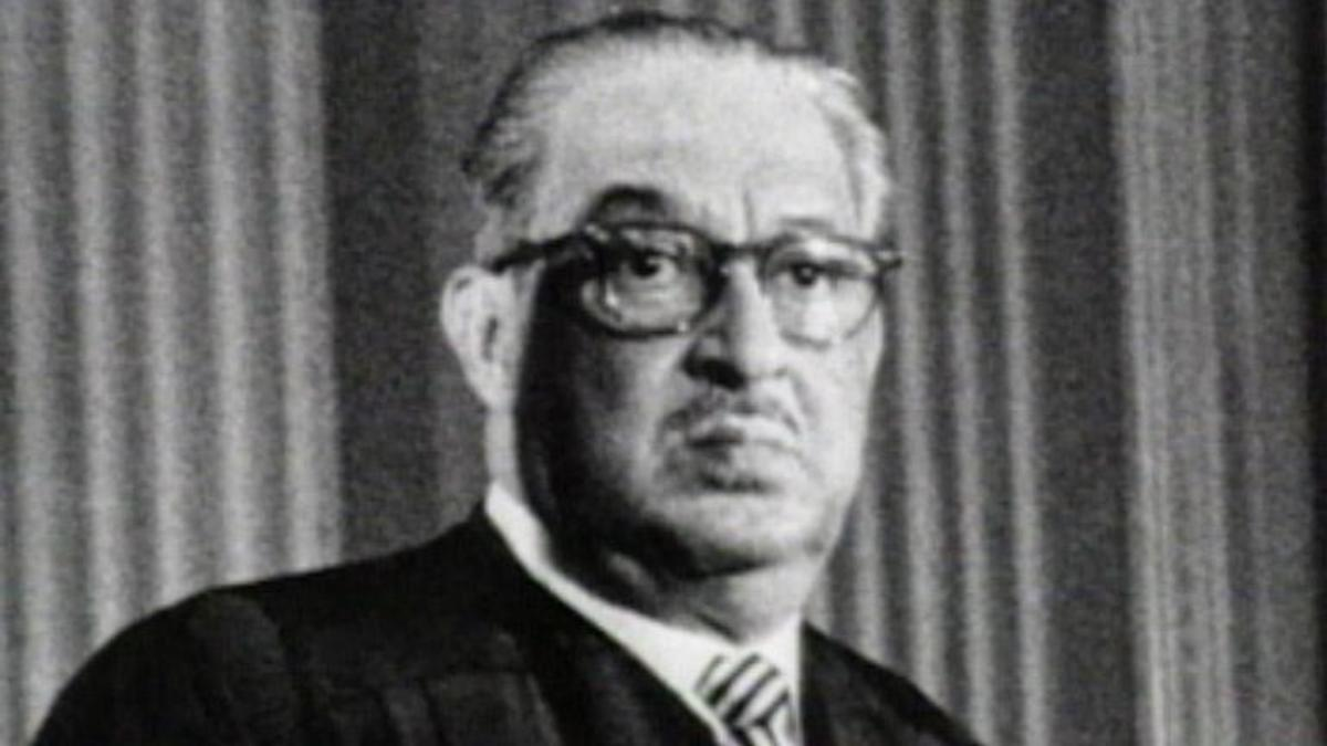 thurgood marshall essay Thurgood marshall was the first to tackle segregation in the usa by directly tackling laws enforcing thurgood marshall essay sample the whole doc is available only for registered users open doc.