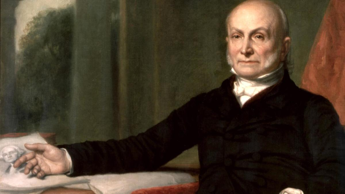 biography of john quincy adams John quincy adams was born on july 11, 1767, in the village of braintree (now quincy), massachusetts, a few miles south of boston his early years were spent living alternately in braintree and boston, and his doting father and affectionate mother taught him mathematics, languages, and the classics.