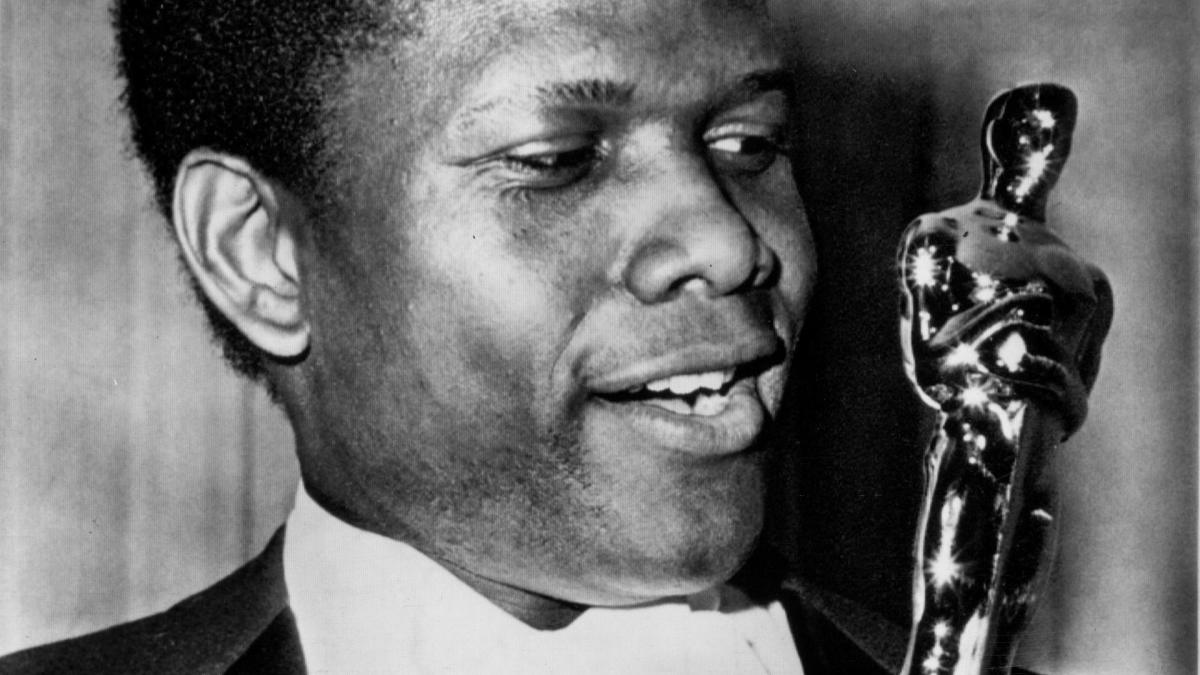 sidney poitier an american actor T he tall, handsome and gifted sidney poitier was the first african american superstar the first black actor to earn a best actor oscar for 1963's lilies of the field and the first to be the top box-office draw in 1968.