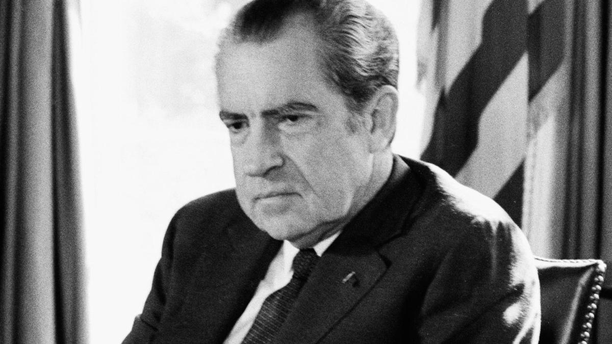 an analysis of president richard nixons speech on the american war on drugs Richard nixon on war it was a surreal way to arrive at president nixon's opening speech a strategy that would end american involvement in the war and enable.