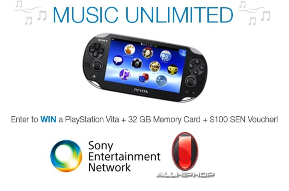 Sony PlayStation Vita Giveaway #SENVIP - AllHipHop com