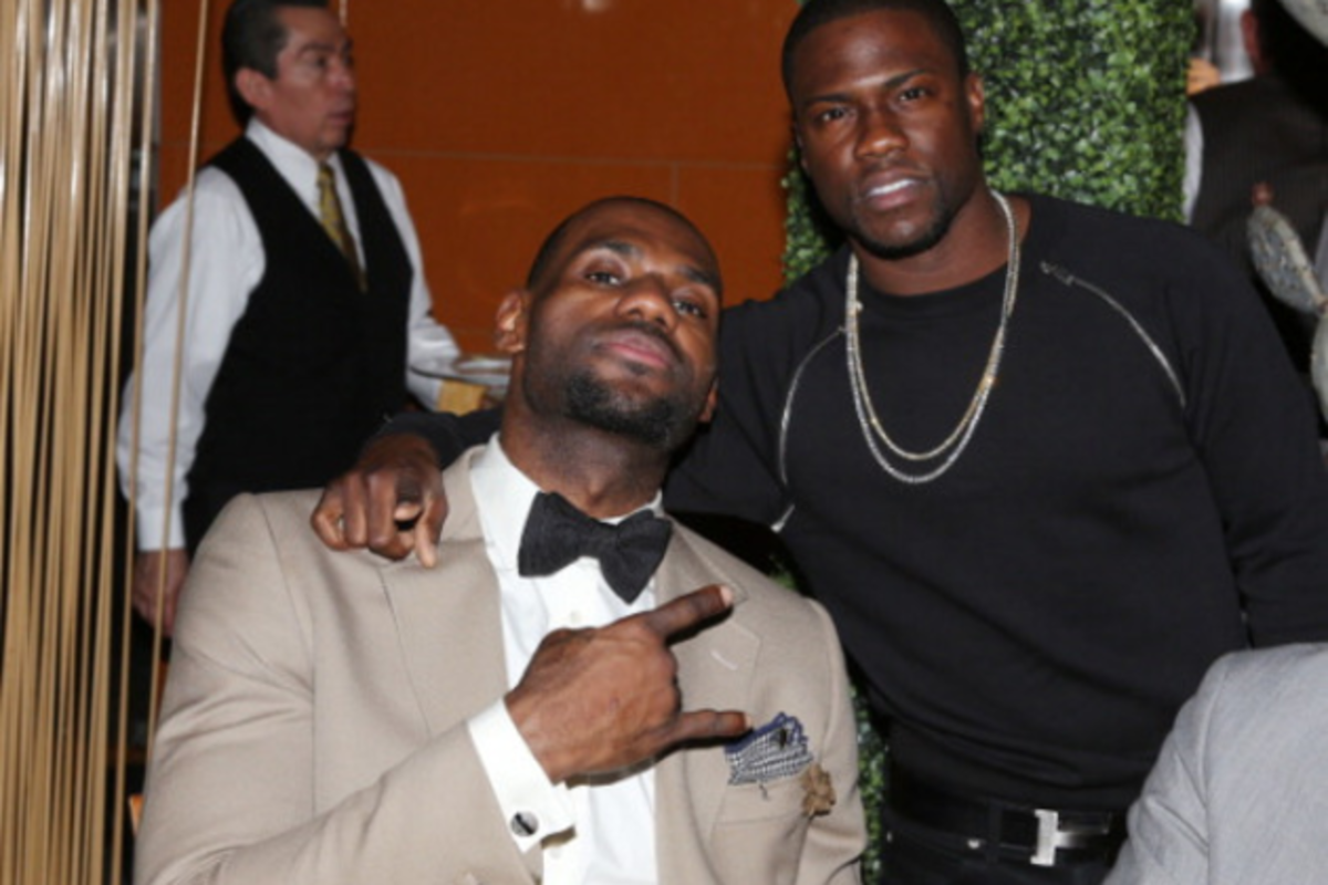 ad1168b9841 Kevin Hart and Lebron James To Co-Star in New Movie