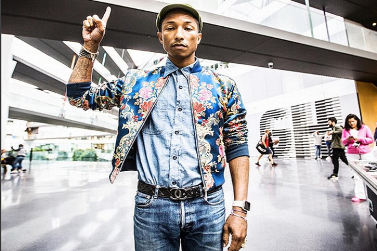 1d19c0cd9 Boss Moves: Pharrell Buys Back Controlling Interest in Billionaire Boys Club  Brand - AllHipHop.com