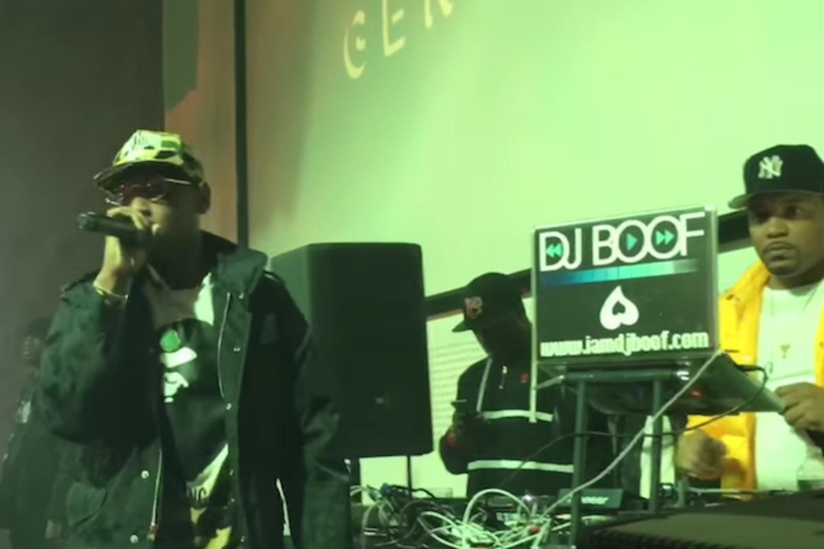 aca9187733c Fabolous Performs The Hits At Genius x Spotify Launch - AllHipHop.com