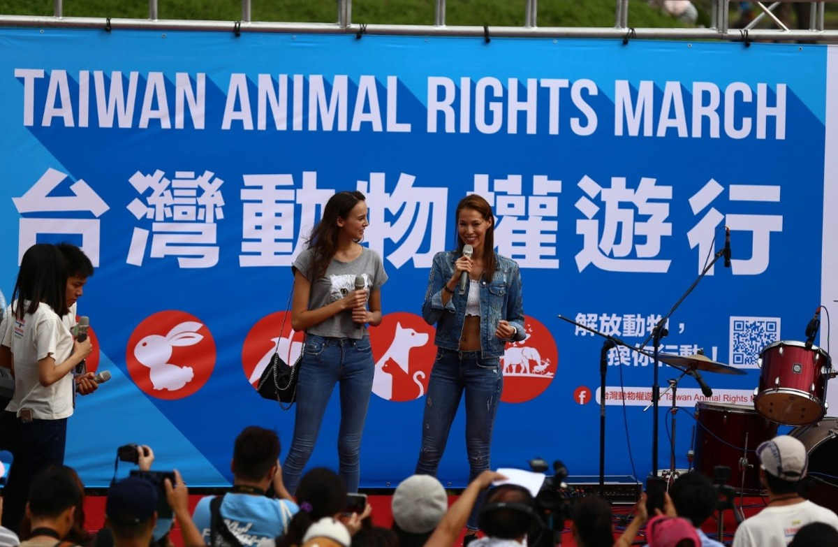 Veganism is 'growing rapidly' in Taiwan, according to organizers (Photo:Supplied)