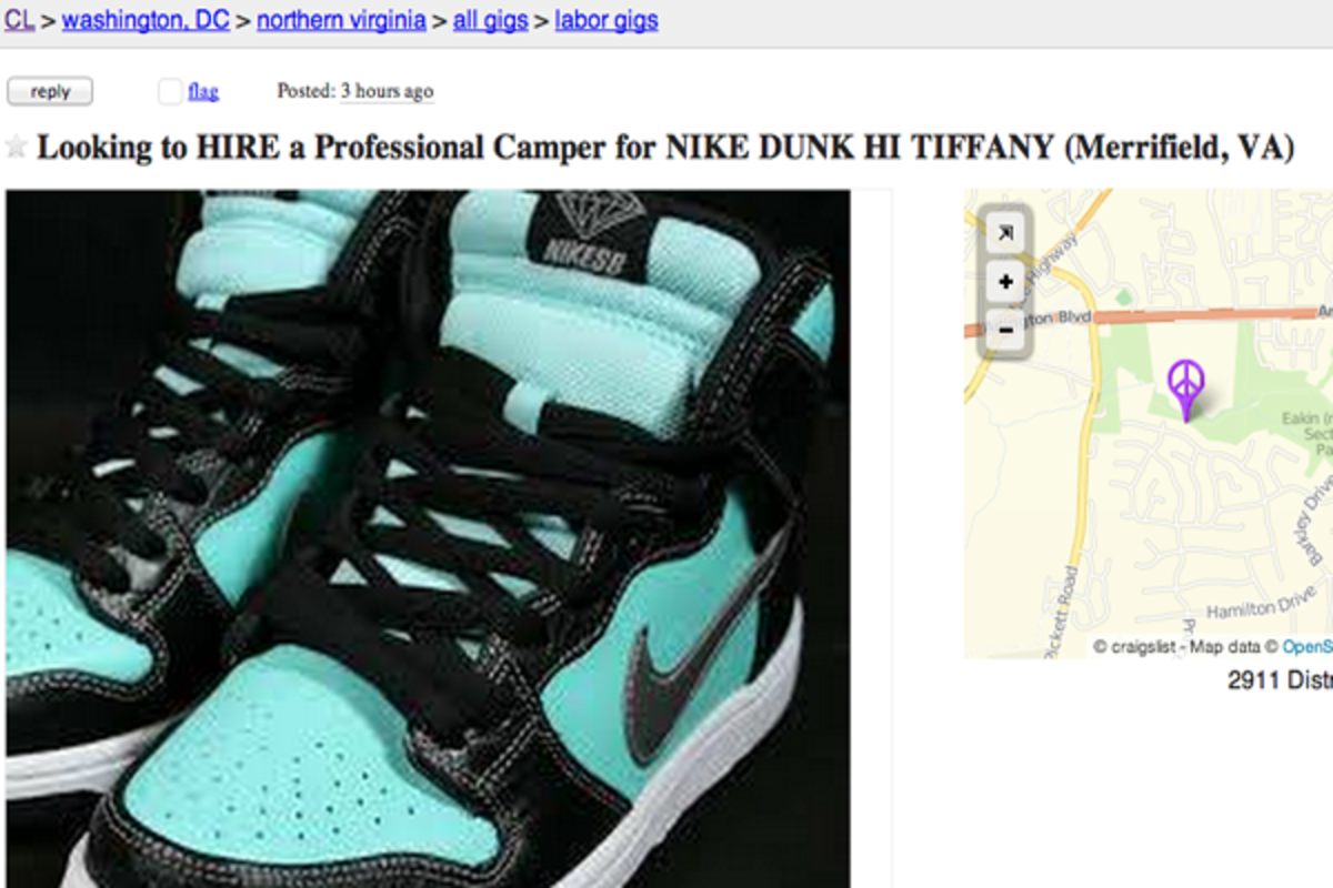 This Guy Is Thirsty For Tiffany Dunks - TheShoeGame com