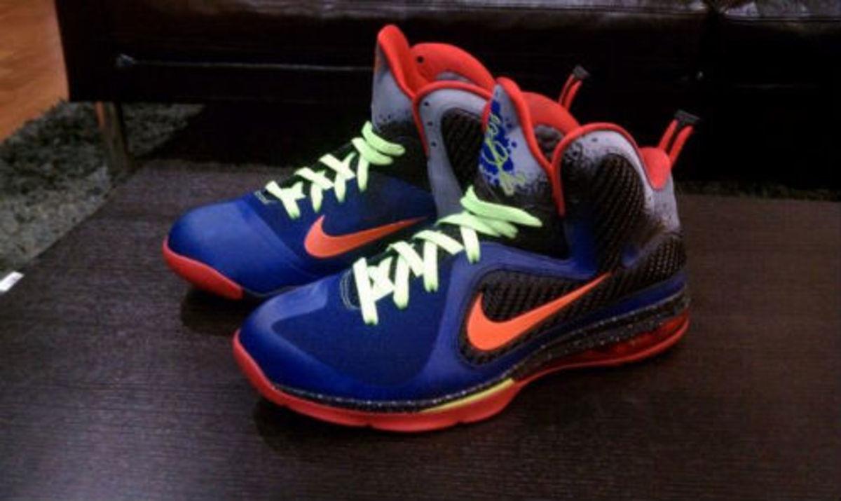 """Nike LeBron 9 """"Nerf"""" Custom"""