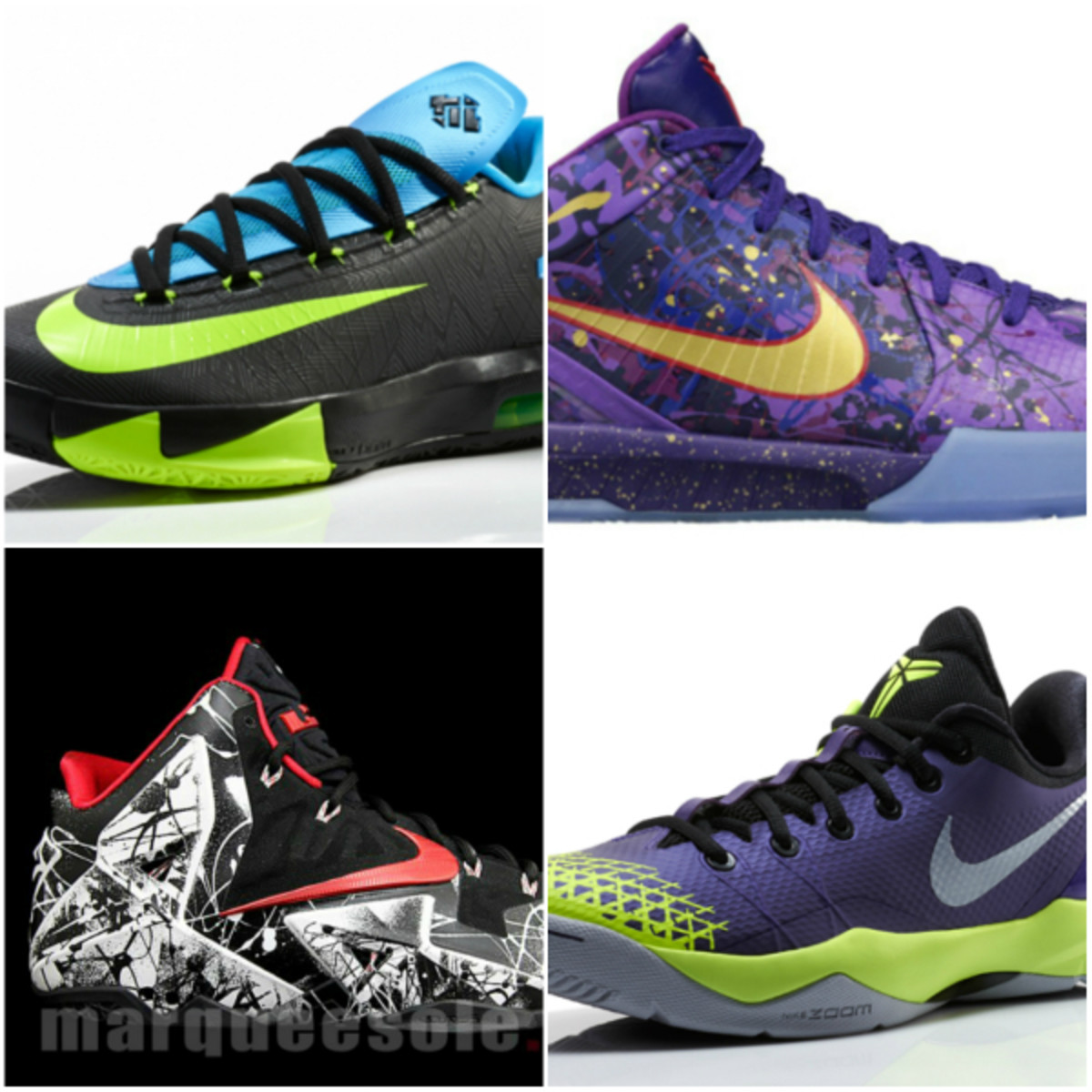 Nike Basketball January 2014 Release Dates