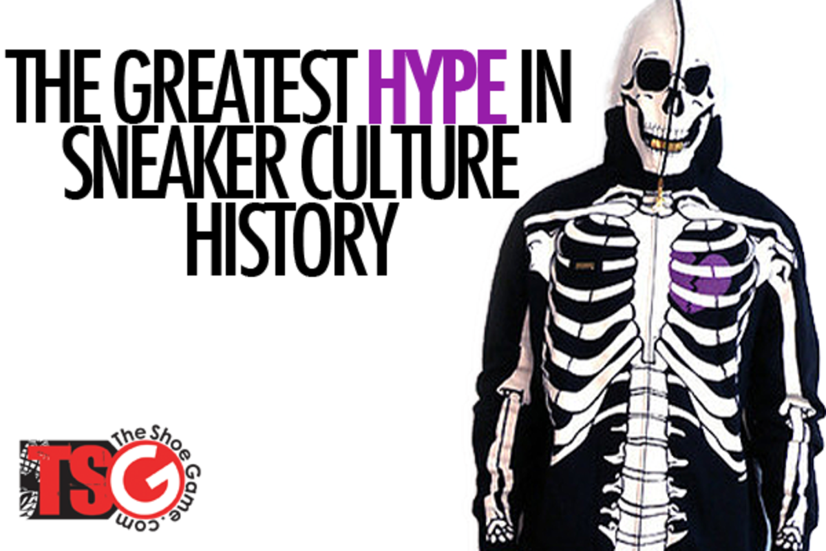 The Greatest Hype In Sneaker Culture History