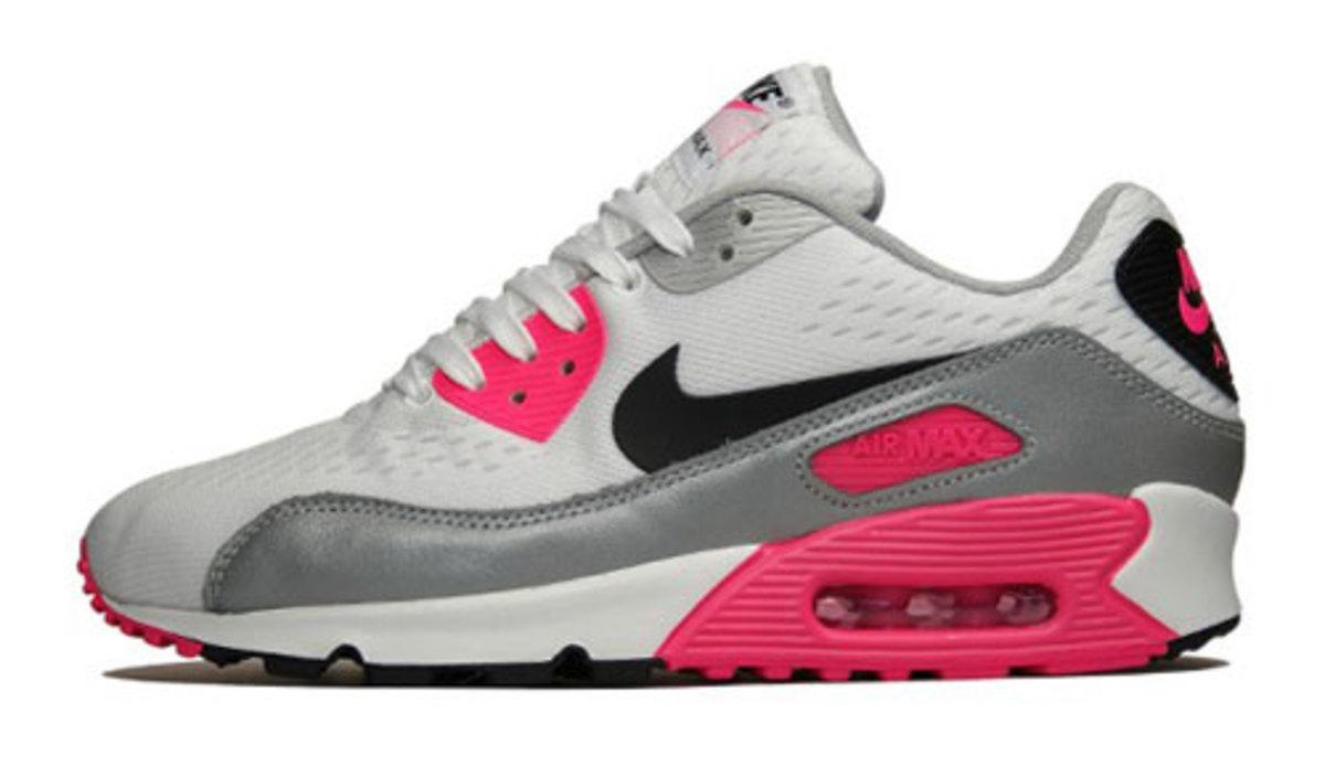 uk availability 4ac40 94b07 Nike Air Max 90 EM White Pink Flash - TheShoeGame.com