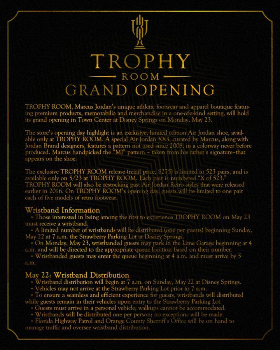 d2047062ced087 How to Attend the Trophy Room Jordan Store Grand Opening - TheShoeGame.com