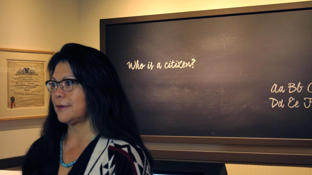 Technology revitalizes Native American boarding school exhibit at Heard Museum