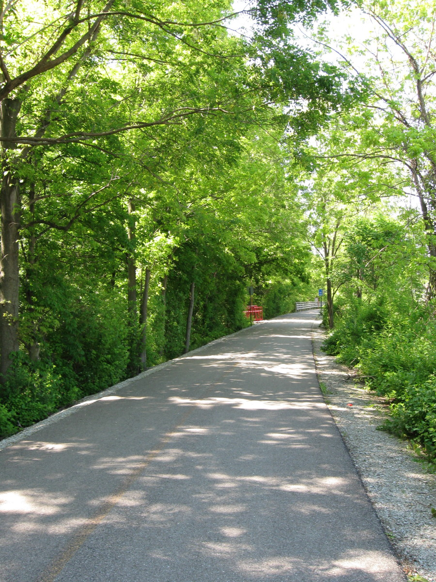 Along the Monon near Carmel, Indiana