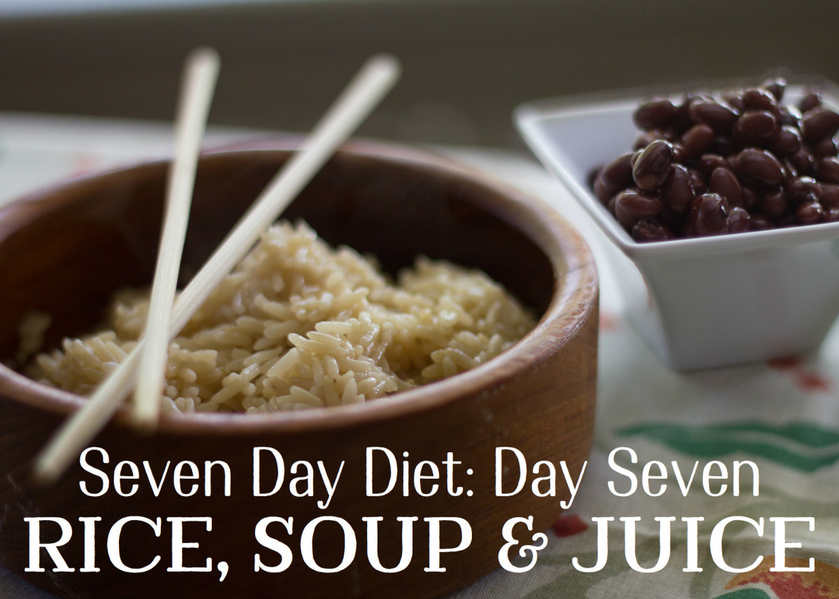 Lose 10 Pounds in a Week: Day Seven