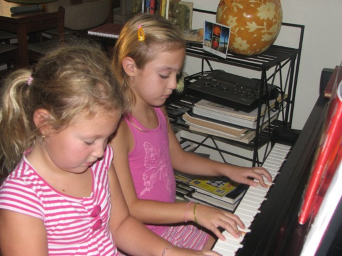 Little Fingers of Love: A Dedication to Young Piano Students