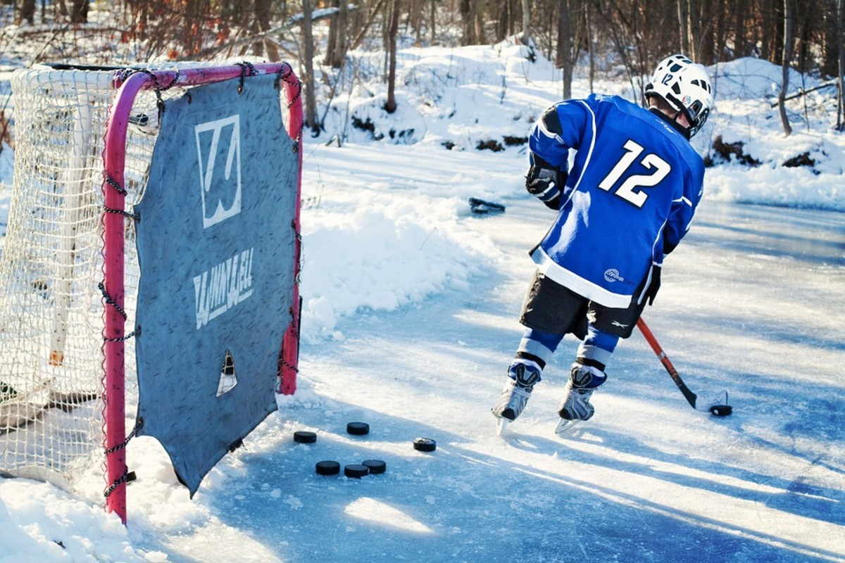 All the great hockey players played on outdoor rinks, or so the myth goes.