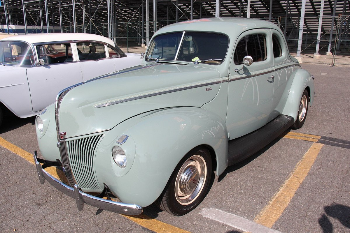 The 1940 Ford Standard Coupe.