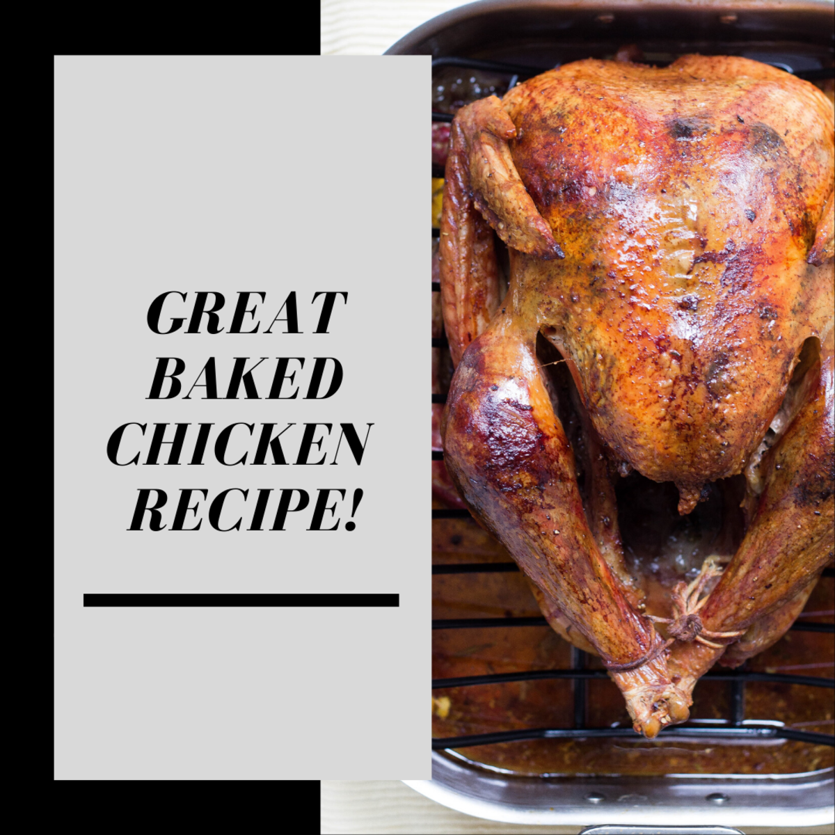 This amazing baked chicken recipe is perfect for any occasion.