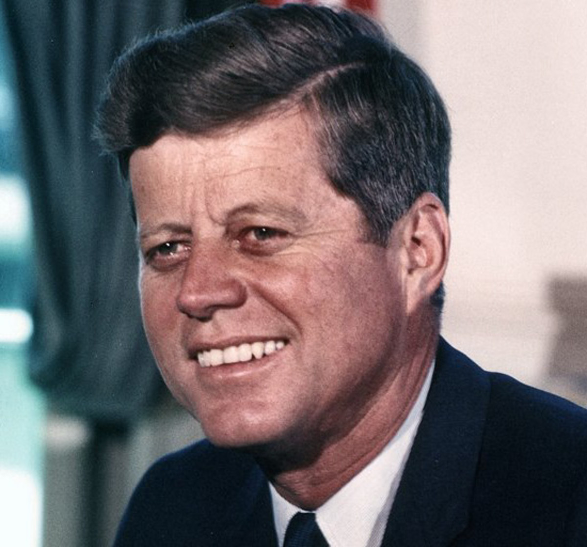 """During his inaugural address, President Kennedy said, """"The rights of man come not from the generosity of the state, but from the hand of God."""""""