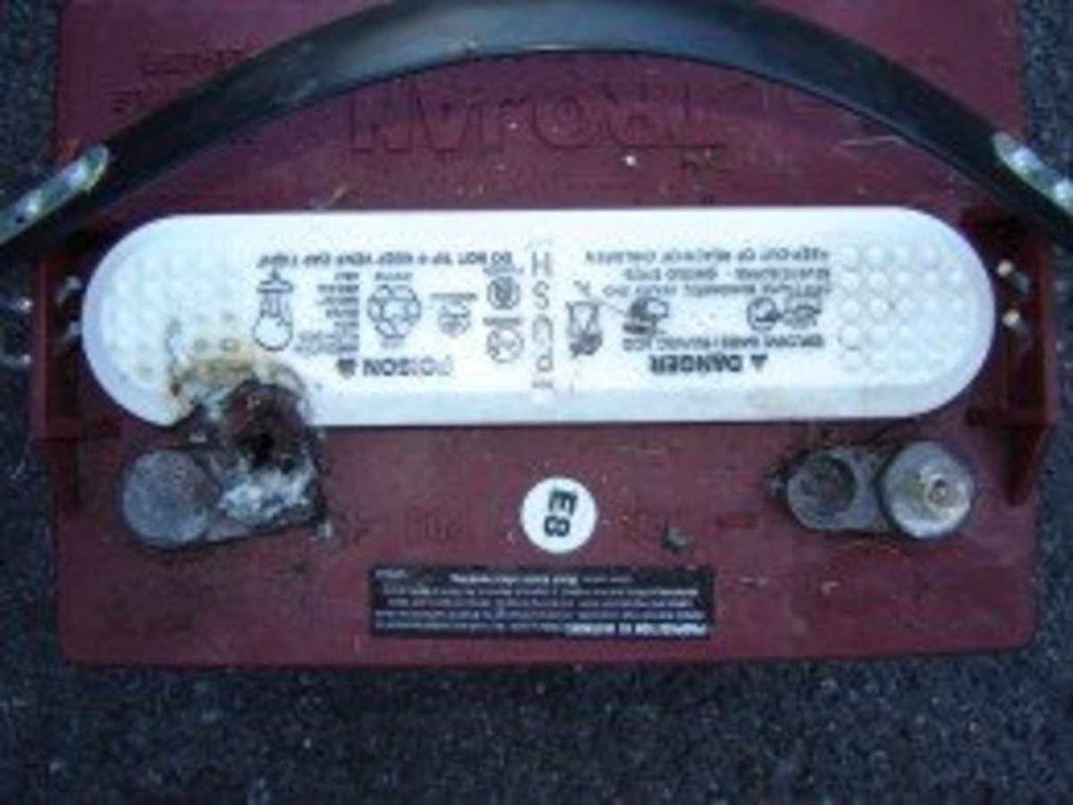 Bad Cable Equals Expensive Battery Replacement for Club Car EZGO Golf Cart
