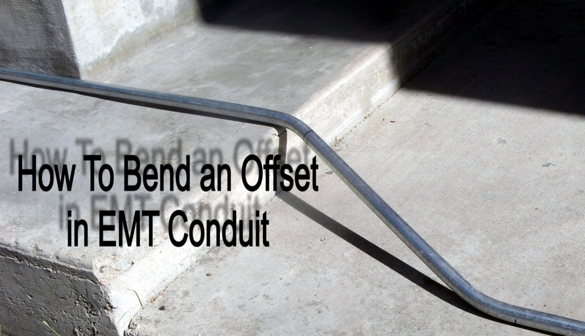 A Conduit Bending Guide on How to Bend an Offset