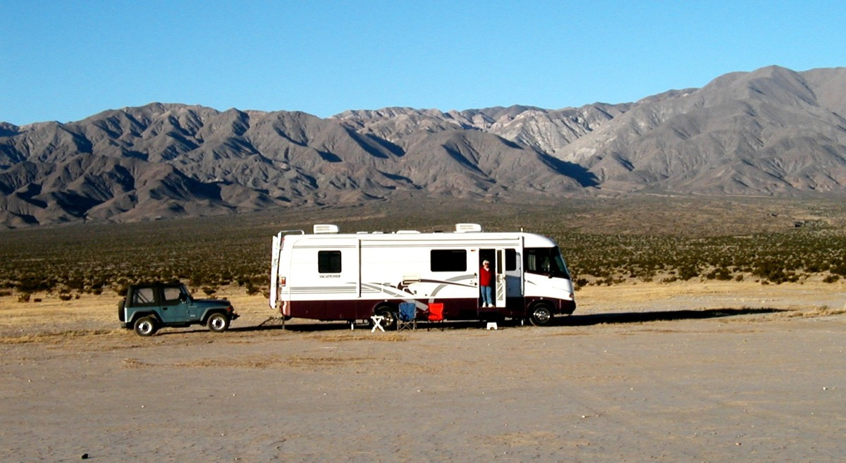 Free camping on public lands