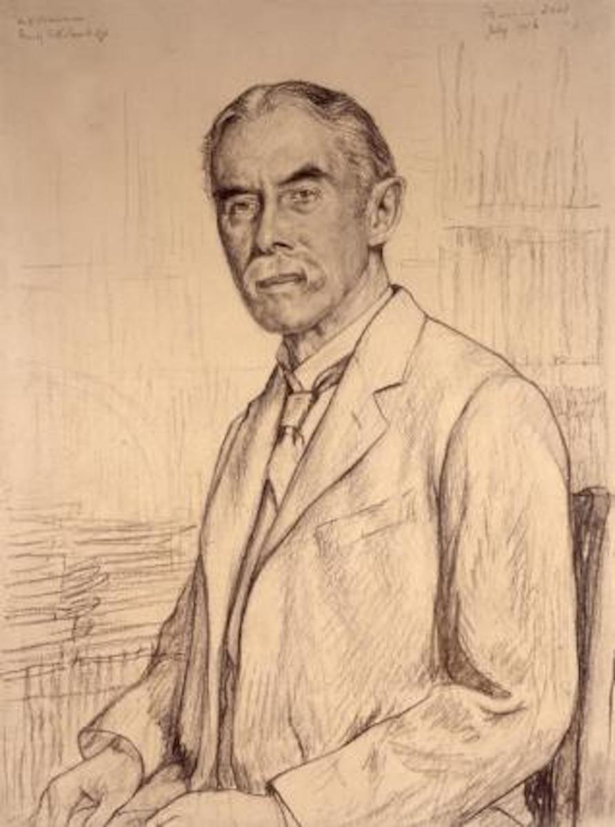 A. E. Housman - Drawing