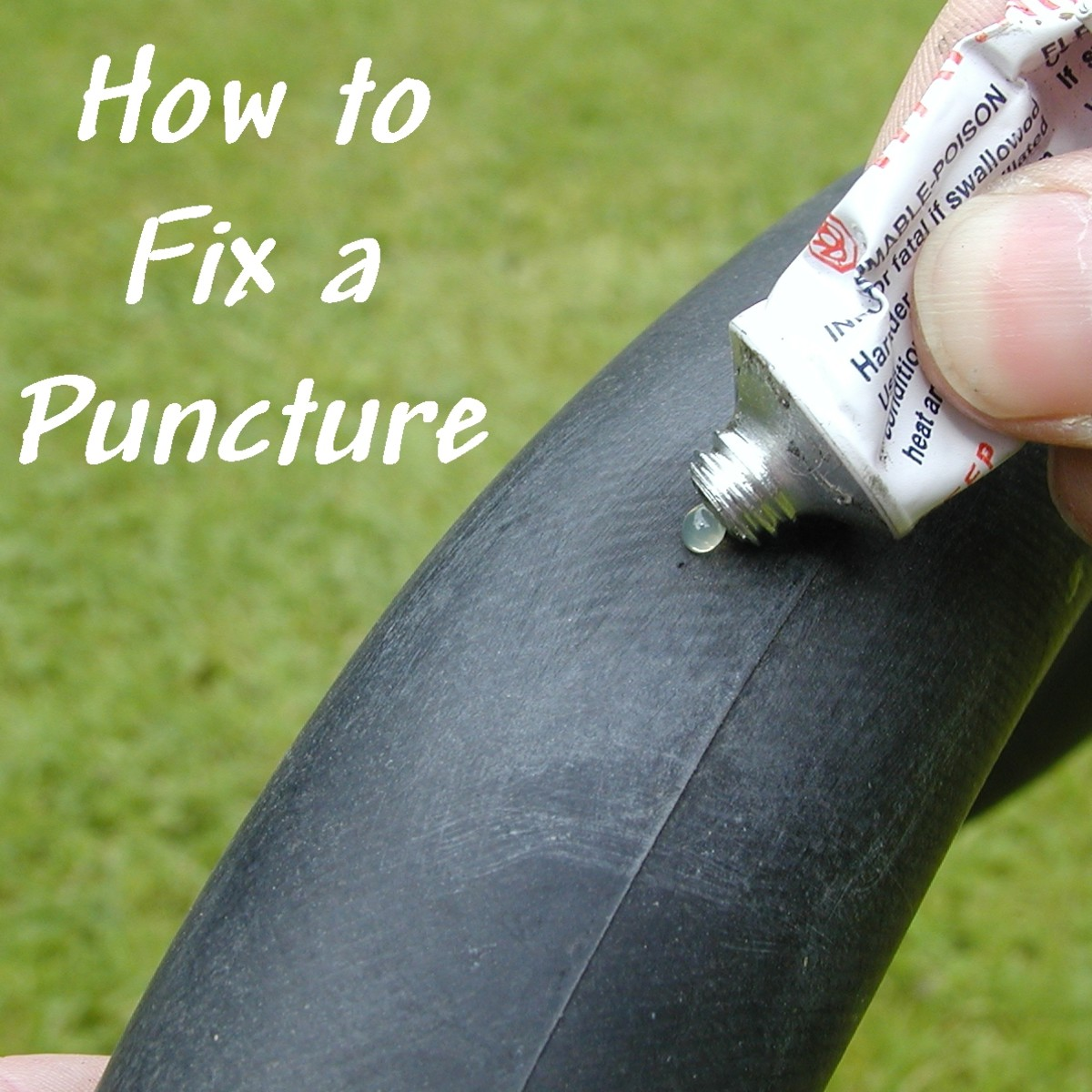 How to Fix a Punctured Bicycle Tube and Tire: 10 Steps With Pictures