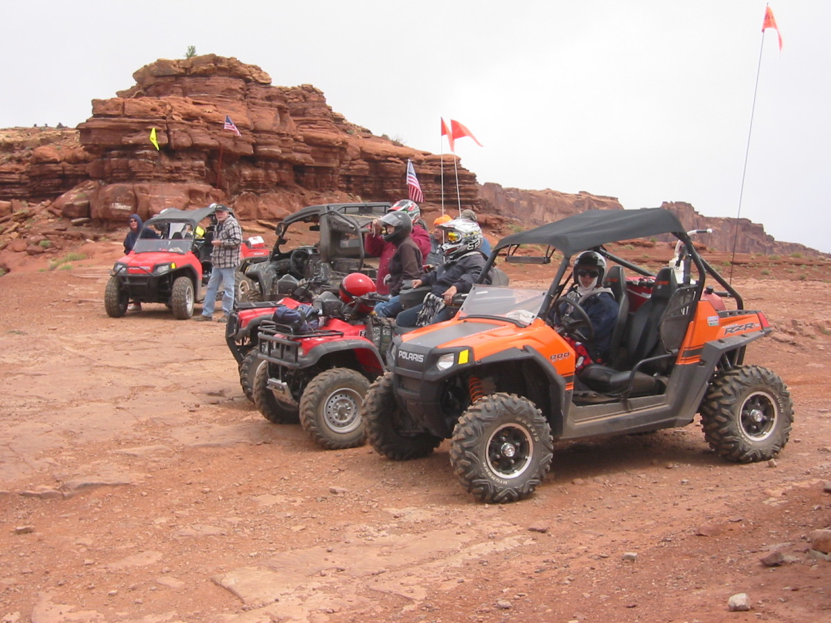 Ride the ATV  UTV Trail in Moab Utah Onion Creek