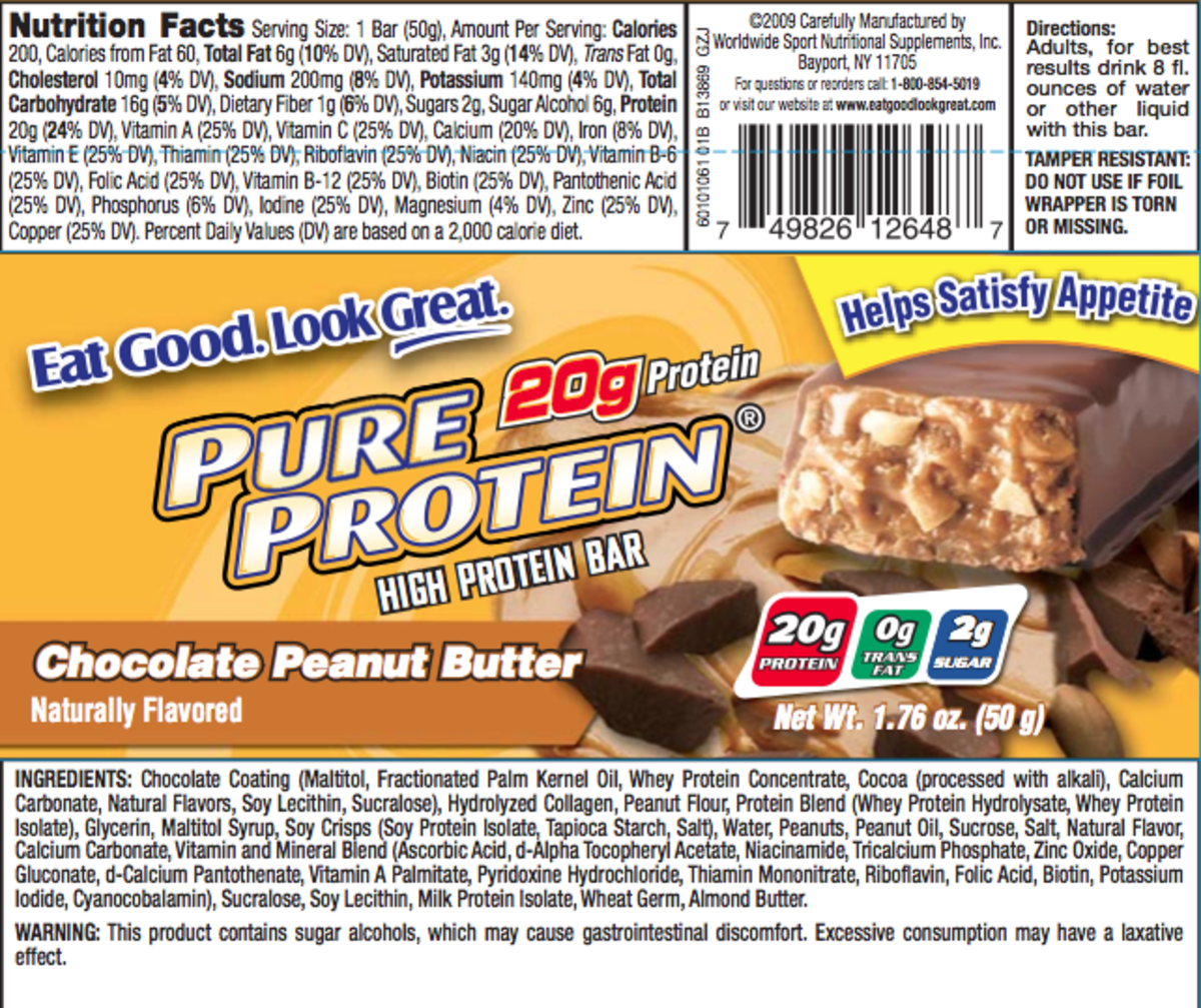 It's not always easy to find a bar with the perfect nutritional information, so sometimes you need to trade some calories and carbs for protein and taste.  This bar is one of my favorites.