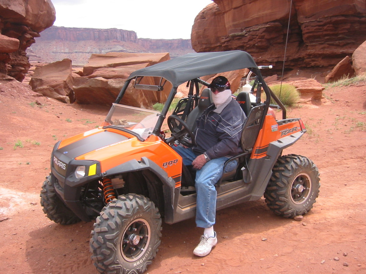 My new toy dominated the red cliffs of Southern Utah.