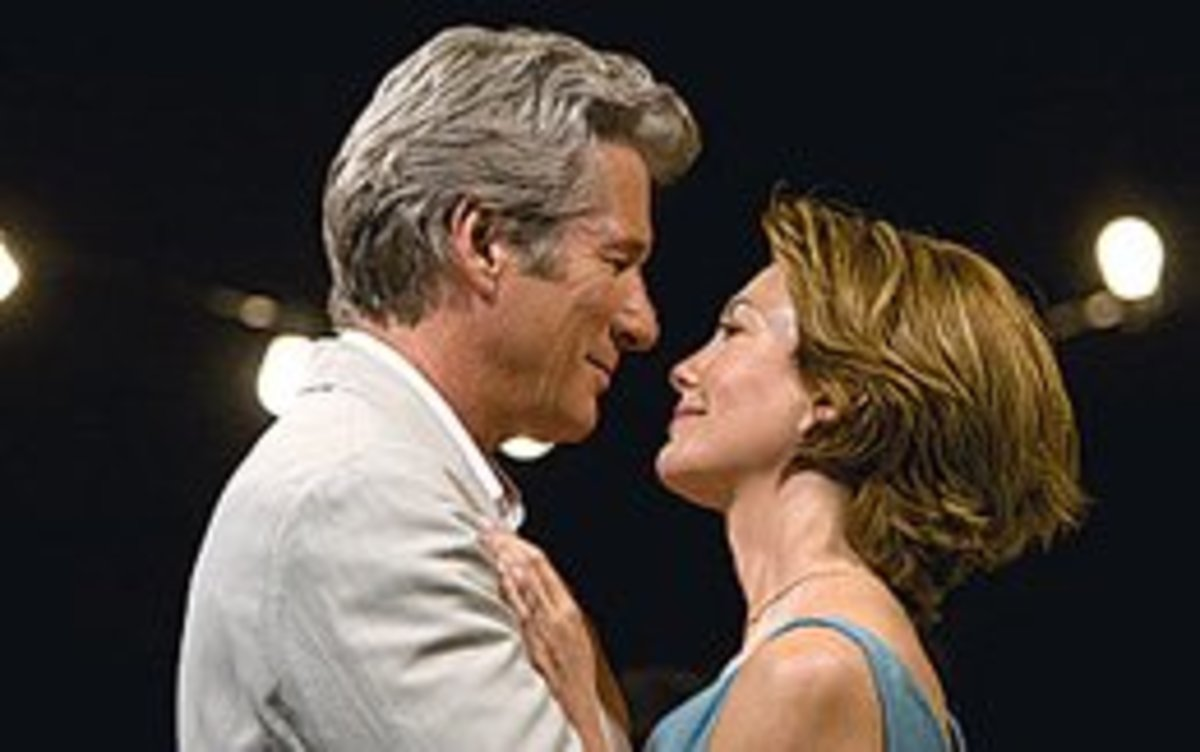 How many movies have Diane Lane and Richard Gere made together?