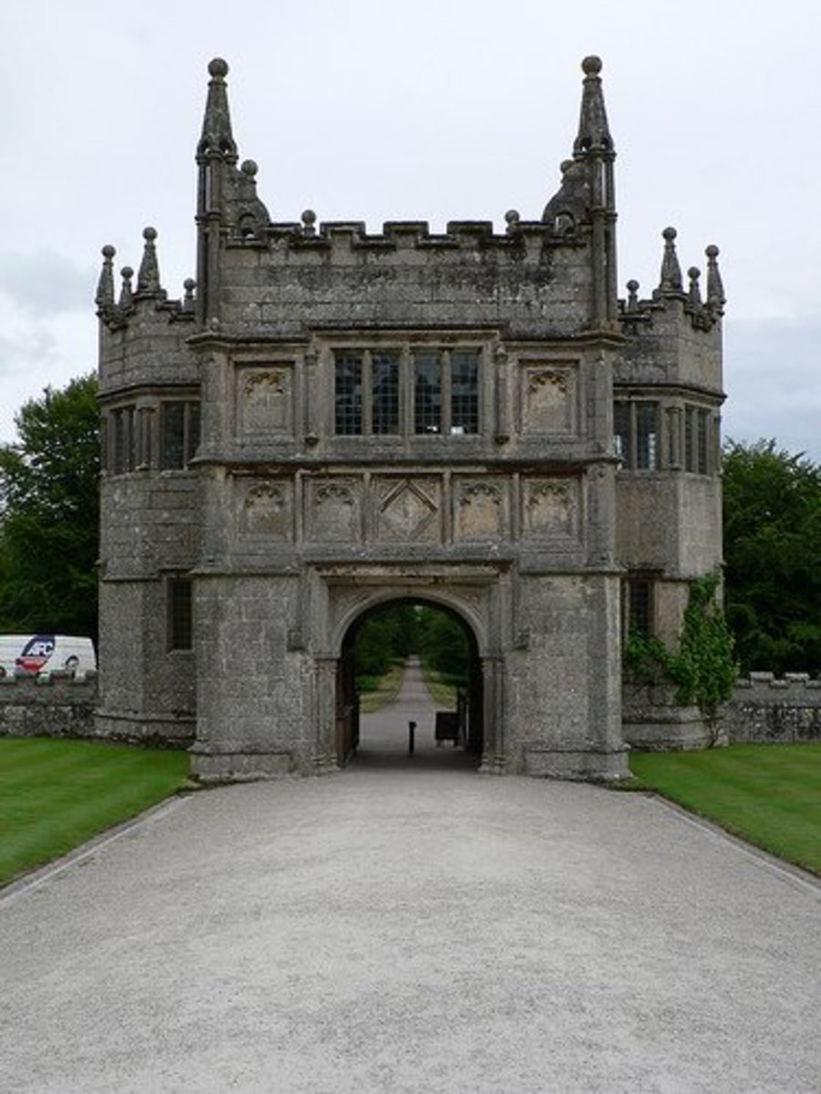Haunted Lanhydrock House Gatehouse