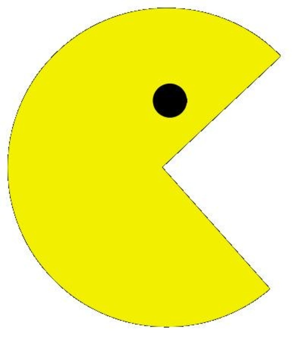 Pacman is one of the most iconic game characters of all time...