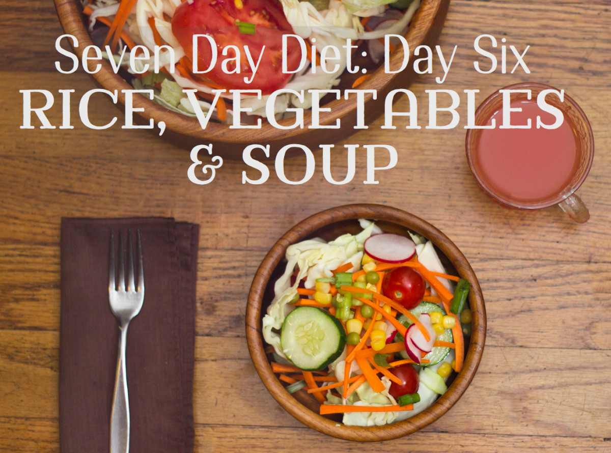 Lose 10 Pounds in a Week: Day Six