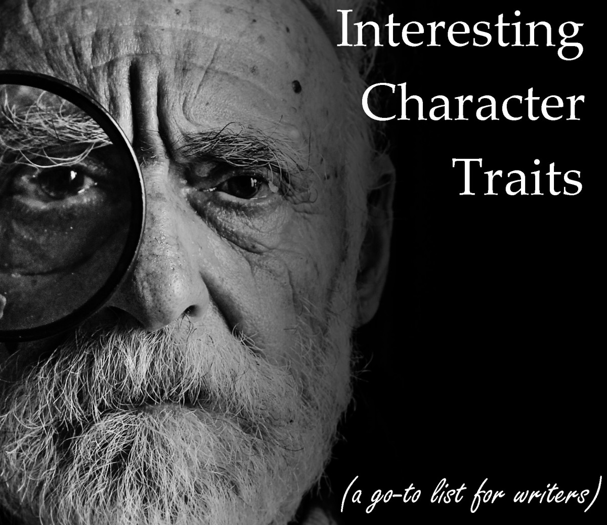 A Writer's List of Interesting Character Traits