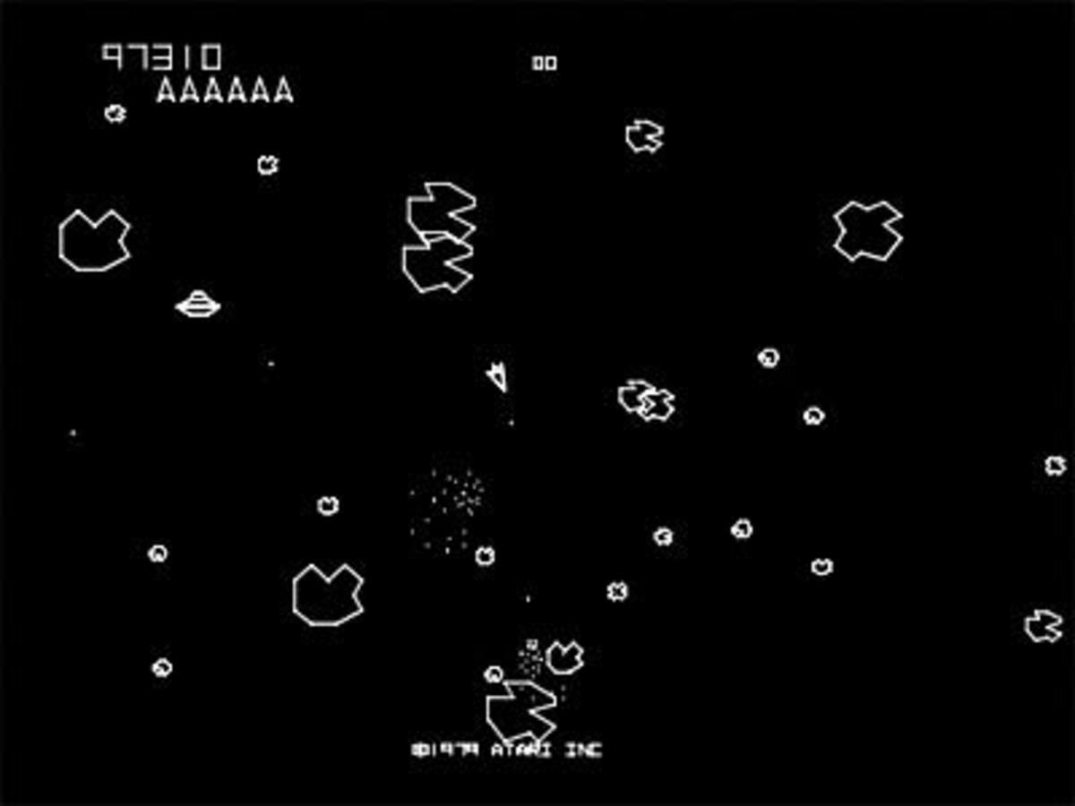 "Asteroids"" by Atari: Classic Arcade Game Review - LevelSkip - Video Games"