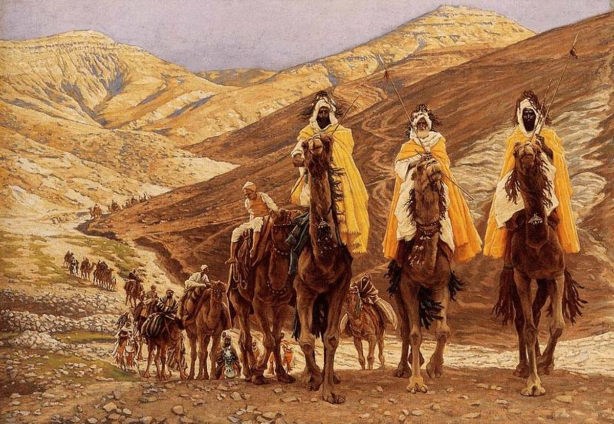 """The Journey of the Magi"" (1894) James Jacques Joseph Tissot"