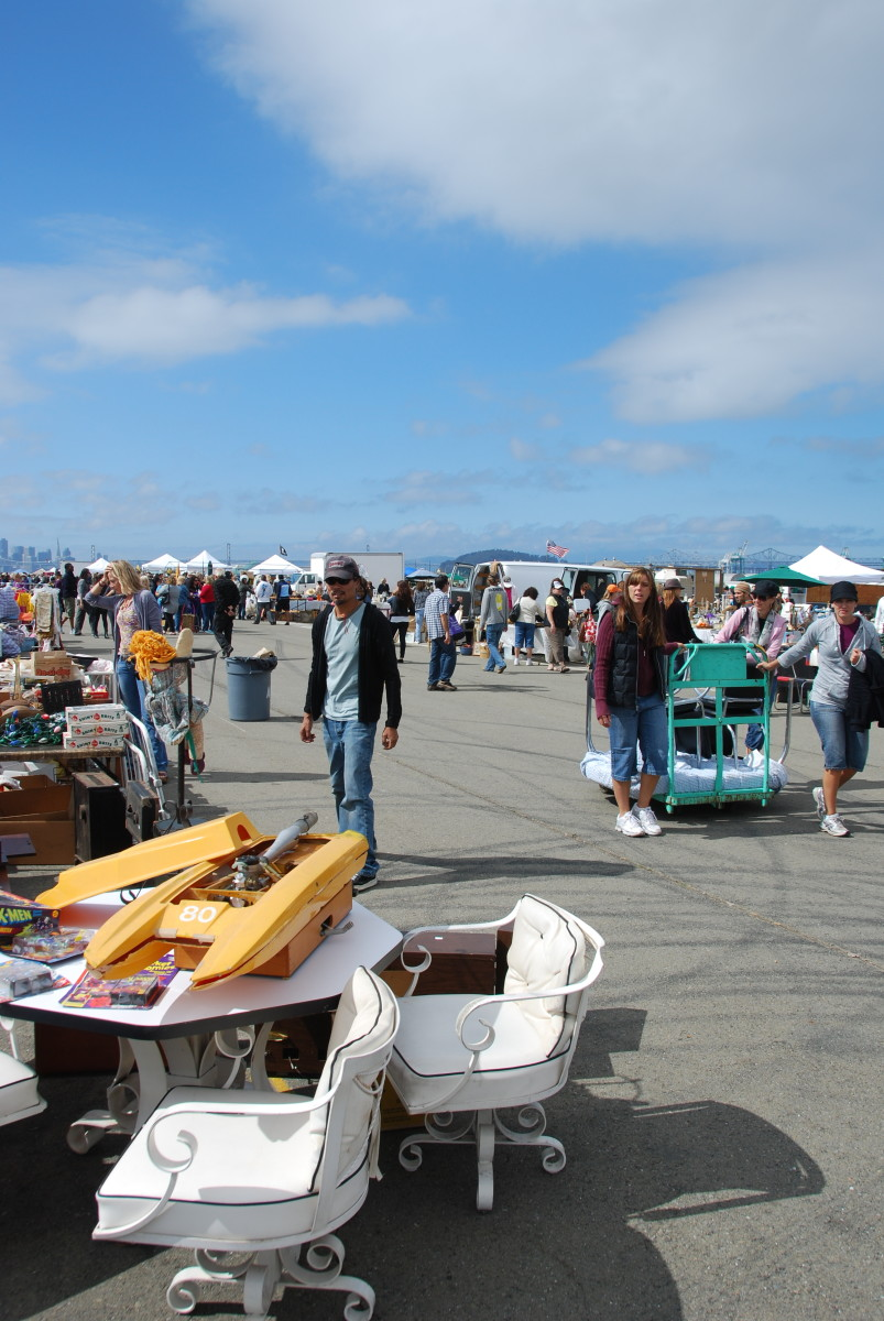 Flea markets are treasure troves of interesting people, objects, and conversations.