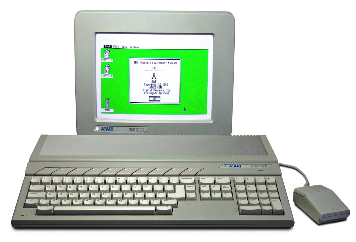 An Atari 1040 ST