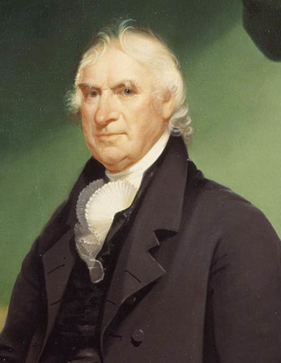 George Clinton (1739-1812) was the first governor of New York under New York's 1777 Constitution. The New York governor was a model for the power of veto later given to the American president.