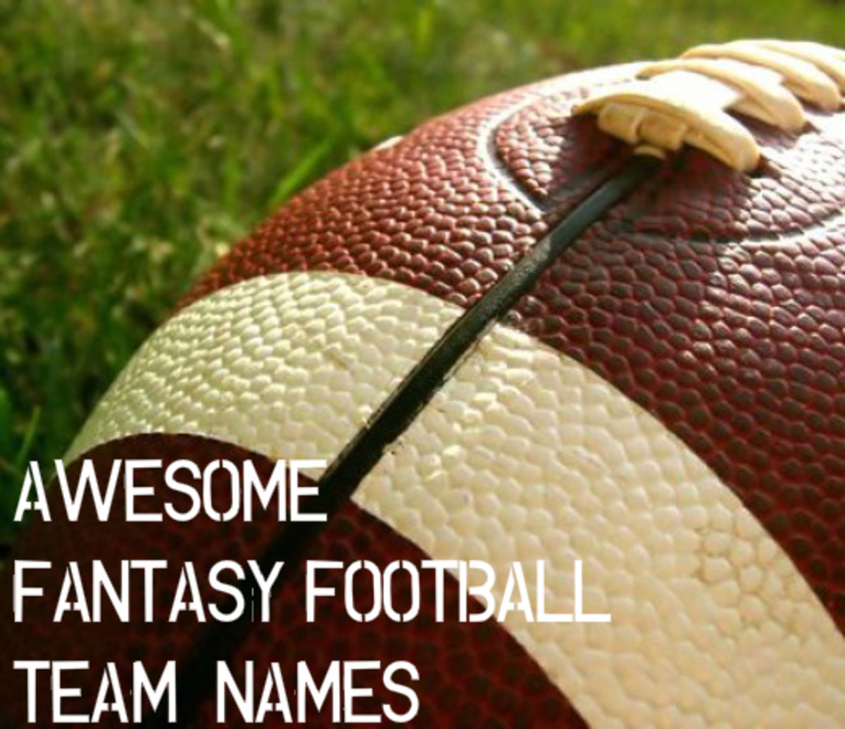 100 Awesome Fantasy Football Team Names