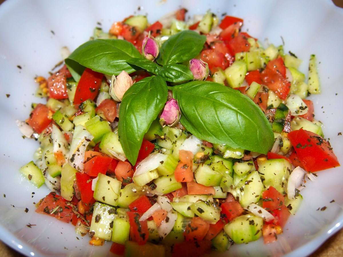 Shirazi salad (one of the best salads anywhere in the world)
