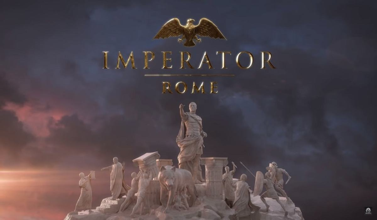 The imperator Rome promotional logo.