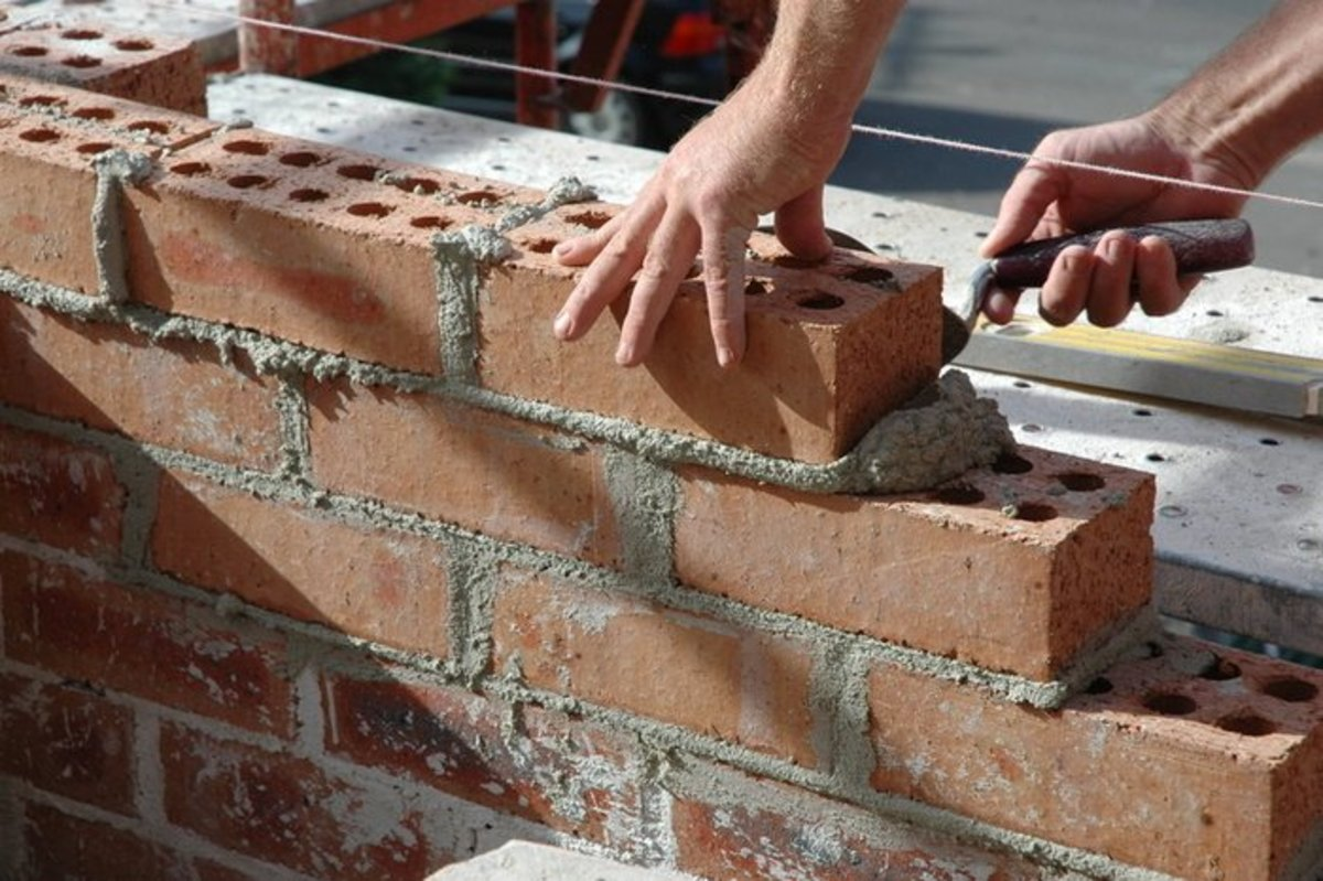 Basic Bricklaying and Cement-Mixing Guide for Beginners